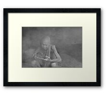 Measuring Time Framed Print
