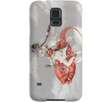 Red Fish Samsung Galaxy Case/Skin