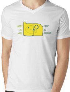 Finn the Human / Jake the Dog Mens V-Neck T-Shirt