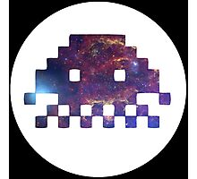VOYD - Inverted Space Invaders Photographic Print