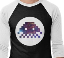 VOYD - Inverted Space Invaders Men's Baseball ¾ T-Shirt
