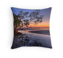 Dawn Reflections Throw Pillow