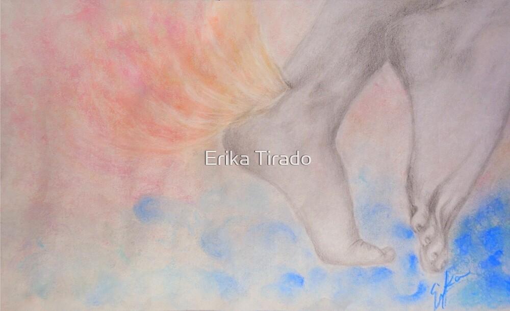 pies descalzos, sueños blancos by Erika .