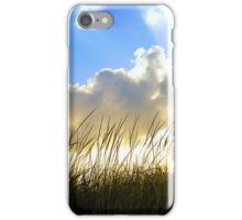 Seaside Grass and Clouds iPhone Case/Skin