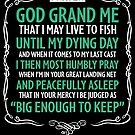 Fisherman's Prayer by GKdesign