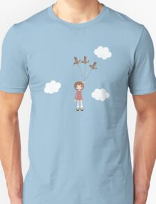Lola Learns to Fly Unisex T-Shirt