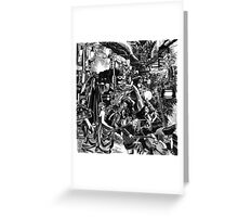 'All That Great Heart Lying Still' Greeting Card