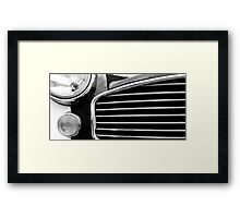 indian taxi Framed Print