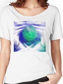 Waiting on the World to Change/ ART + Product Design Women's Relaxed Fit T-Shirt