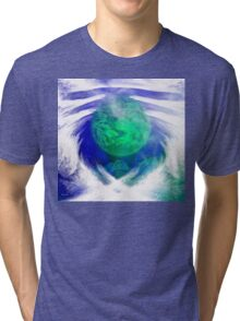Waiting on the World to Change/ ART + Product Design Tri-blend T-Shirt
