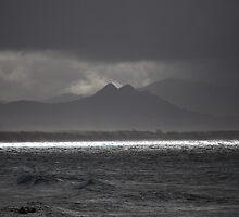 Mount Warning From Byron Bay by splitsie