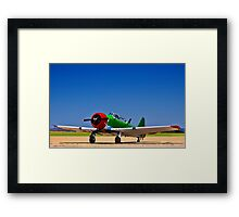 North American AT-6 Harvard - Rendition. Framed Print