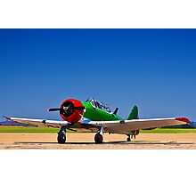 North American AT-6 Harvard - Rendition. Photographic Print
