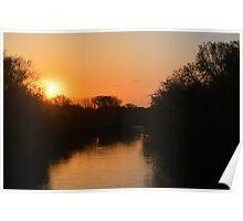 Winnebago Sunrise Poster