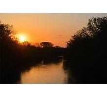 Winnebago Sunrise Photographic Print