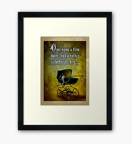 What will the towns folk think? Framed Print