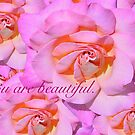 YOU ARE BEAUTIFUL (Card) by Thomas Barker-Detwiler