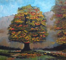 Autumn in Grasmere by Martin Williamson (©cobbybrook)