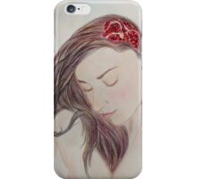 Pomegranate Woman iPhone Case/Skin