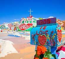 God's Mailbox at Salvation Mountain by Hugh Smith