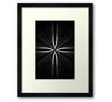 Barley Cross Framed Print