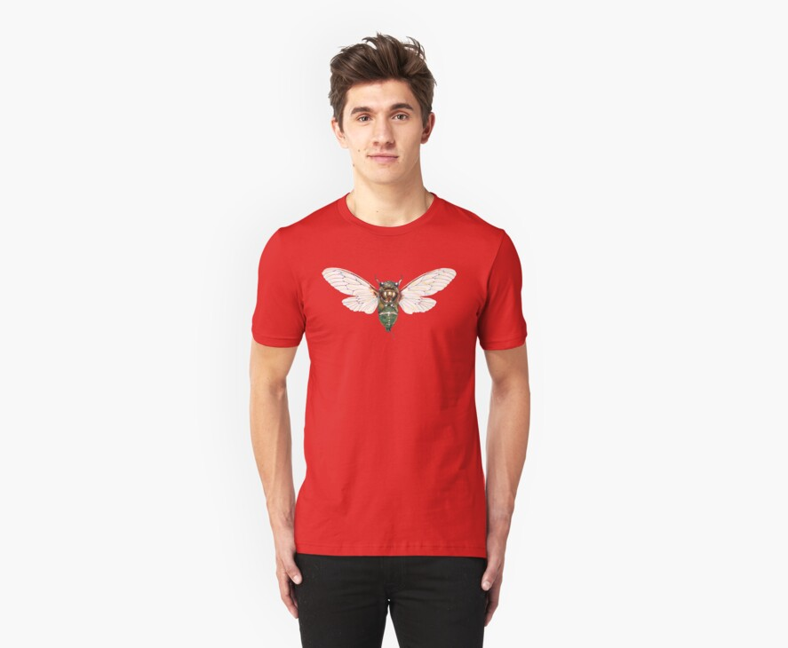 Cicada Tee by Pete Janes