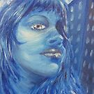 Blue day by Karly Lussier