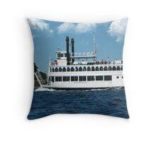 THE ISLAND QUEEN BOAT PICTURE,PILLOW ,TOTE BAG ECT.. Throw Pillow