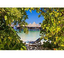 Postcard from Bora-Bora, French Polynesia Photographic Print
