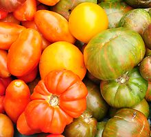 Assorted Heirloom Tomatoes by JRCollection
