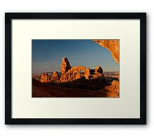 Turret Arch - Another View Framed Print