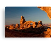 Turret Arch - Another View Canvas Print