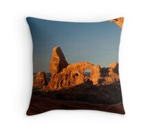 Turret Arch - Another View Throw Pillow