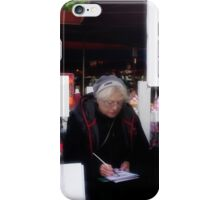 Artist Montmartre, Paris iPhone Case/Skin