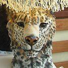 Snow leopard Lamp by Alex Gardiner