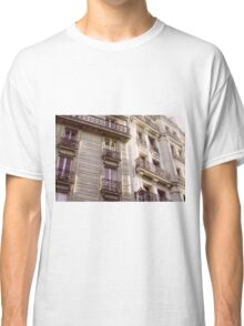 Parisian Architecture Classic T-Shirt