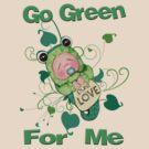 Go Green Tadpole / Frog Baby by Jamie Wogan Edwards