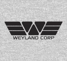Weyland Corp logo - Alien - Grey by createdezign