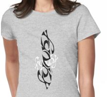 Funky Ambigram  Womens Fitted T-Shirt
