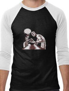 Defective Head Men's Baseball ¾ T-Shirt