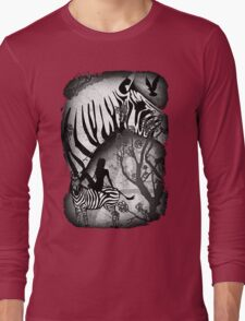 In My Black and White Dream Long Sleeve T-Shirt