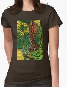 Queen of the Daffodils Womens Fitted T-Shirt