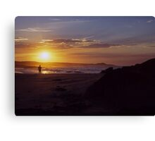 Sunset ozzy style Canvas Print