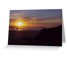 Sunset ozzy style Greeting Card