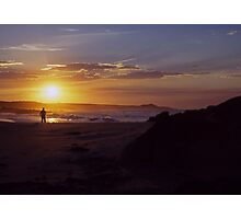 Sunset ozzy style Photographic Print