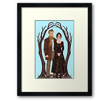 Into The Woods: Baker and Baker's Wife Framed Print