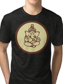 Hindu, Hinduism, Ganesh T-Shirt Tri-blend T-Shirt
