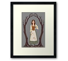 Into the Woods: Cinderella [Prologue] Framed Print
