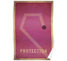 Protection Paladin - WoW Minimalism Poster