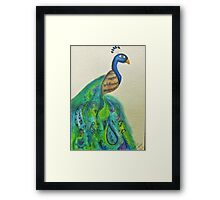 Beautiful Feathered Friend Framed Print